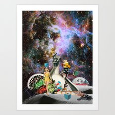 Big Toke Art Print