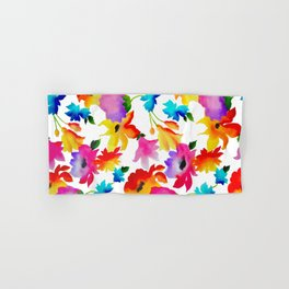 Dancing Floral Hand & Bath Towel