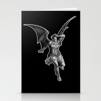 satan Stationery Cards featuring Satan by TheMessianicManic