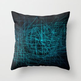 Network Throw Pillow