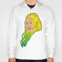 jamaica Hoodies featuring Jamaica Girl by Theophilus Marks