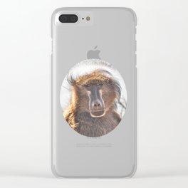 Golden Ancestor Dad Clear iPhone Case
