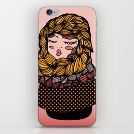 Andrea's Scarf iPhone Skin