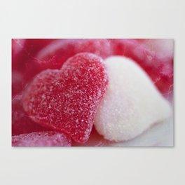 Be My Gummy Heart Canvas Print