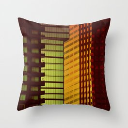 It's all Shapes and Colors - Downtown Los Angeles #68 Throw Pillow