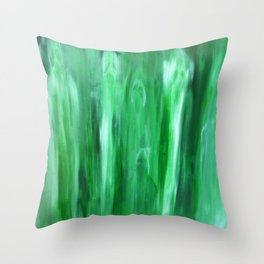 Ghosts Acrylic Painting Throw Pillow