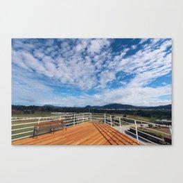 Morning Views Canvas Print