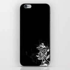 Datadoodle Flowers B/W iPhone & iPod Skin