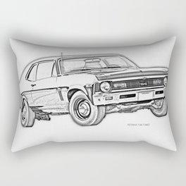 1968 Nova Rectangular Pillow