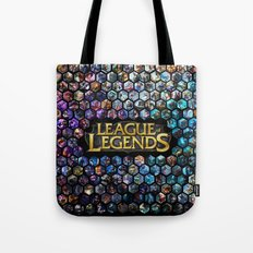 League of Legends - Champions! Tote Bag