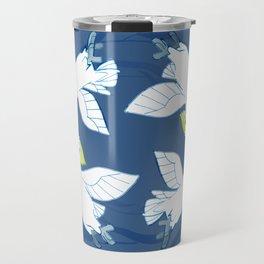 Cockatoo Angels (Blue) Travel Mug