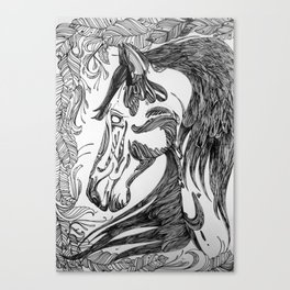 horseseven Canvas Print