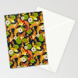 Bright Koi Stationery Cards