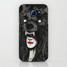 of wolf and men iPhone Case