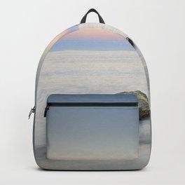 """SuperMoon At Plomo Beach"" Backpack"
