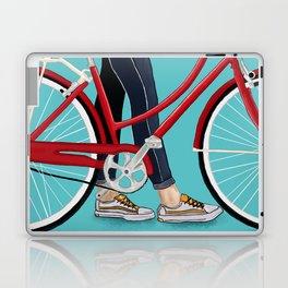 Girl Bike Laptop & iPad Skin