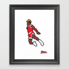 Air Pixel Framed Art Print