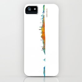 Istanbul City Skyline Hq v1 iPhone Case