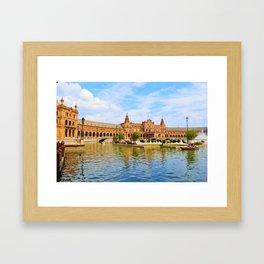 Plaza de Espana Framed Art Print