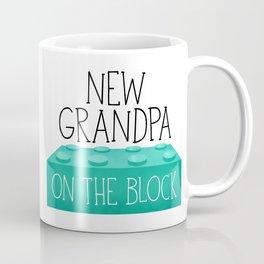 New Grandpa On The Block Coffee Mug