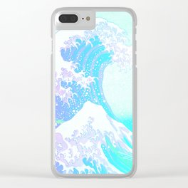 The Great Wave Unicorn Clear iPhone Case