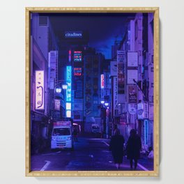 Tokyo Nights / Red Light District / Liam Wong Serving Tray