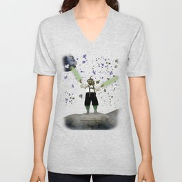 YODA-ling with FORCE - 027 Unisex V-Neck