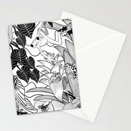 Forest Frogs Stationery Cards