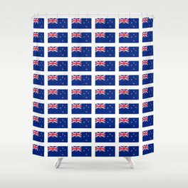 Flag of new zealand -zealand,New Zealander,Kiwi,wellington,Auckland. Shower Curtain