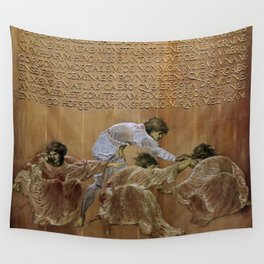 "Edward Burne-Jones ""Perseus and the Graiae"" (II) Wall Tapestry"