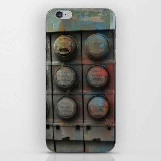 Power Surge iPhone & iPod Skin