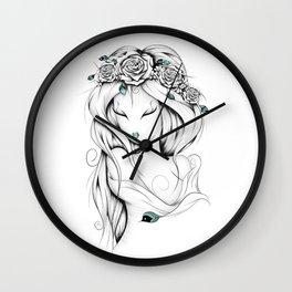 Poetic Gypsy Wall Clock