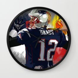 Tom Brady Wall Clock