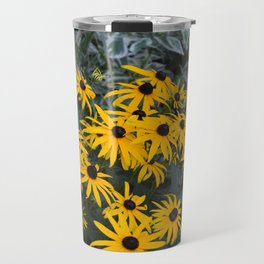 Black Eyed Susans in Bloom Travel Mug