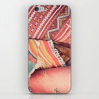 moroccan iPhone & iPod Skins featuring Moroccan by Paint Pattern Photo