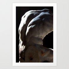A Study on Form Art Print
