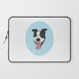 Smiley Pitbull Laptop Sleeve
