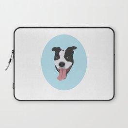Smiley Pitbull Laptop Sleeve
