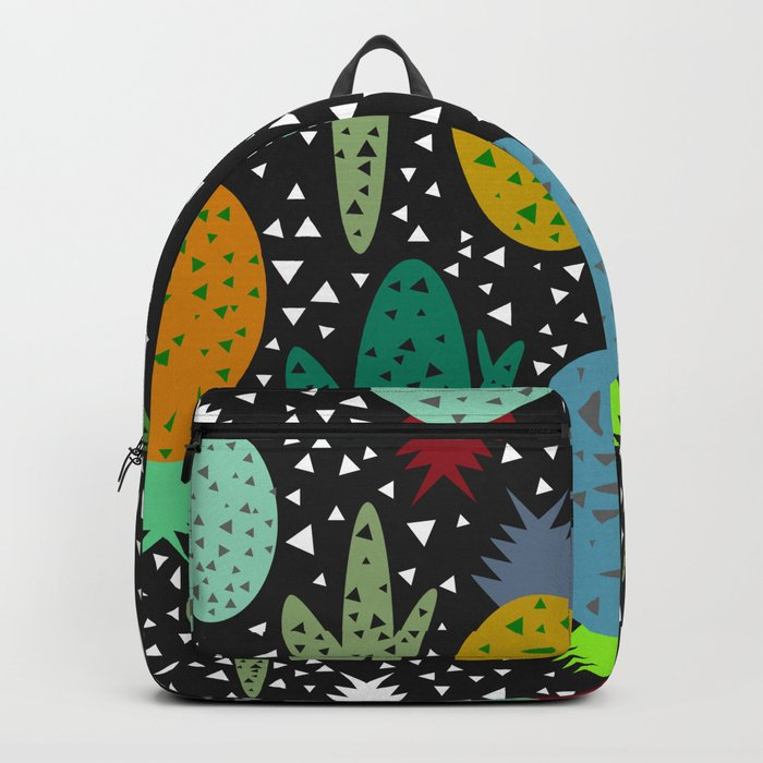 Succulents and pineapples Backpack