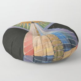 Hilma af Klint - Altarpiece Floor Pillow