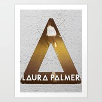 laura palmer Art Prints featuring Bastille #1 Laura Palmer by Thafrayer