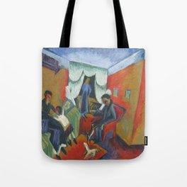 Ernst Ludwig Kirchner Interieur 1915 Tote Bag