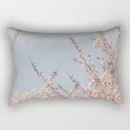 Sweet & Blue Rectangular Pillow
