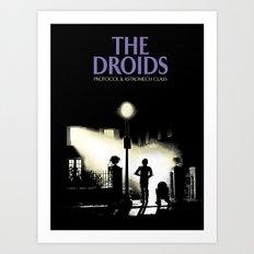 The droids Art Print