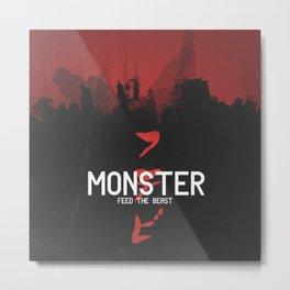 Monster Metal Print
