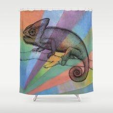 Chameleon (1) Shower Curtain