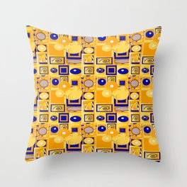 Klimt5 Throw Pillow
