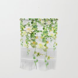 Watercolor Ivy Wall Hanging