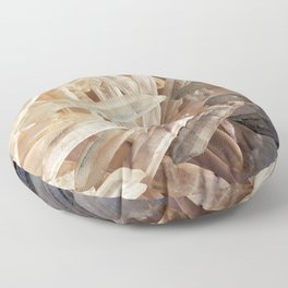 Sparkly Clear Magical Unicorn Crystal Shards Floor Pillow