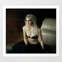 lana Art Prints featuring Lana by ryan & genessa